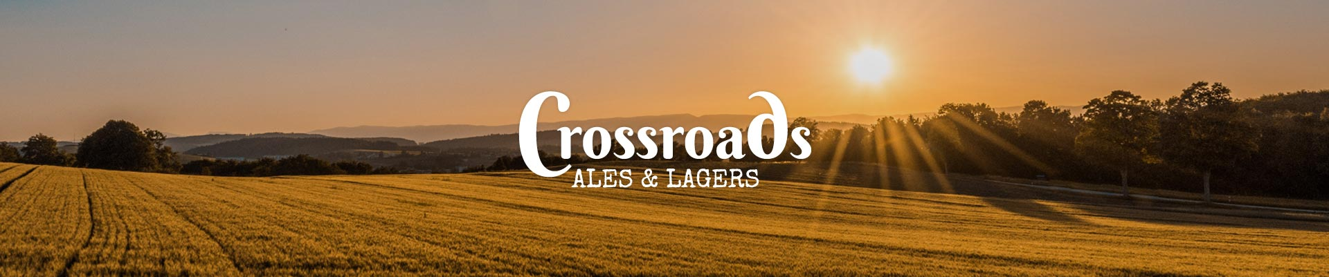 Crossroads Bier Hintergrund