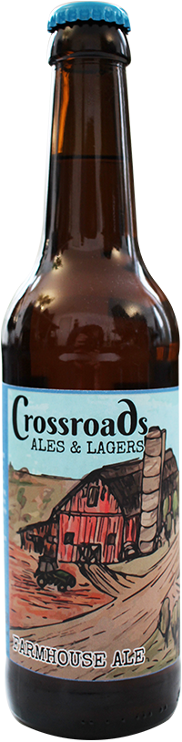 CROSSROADS – FARMHOUSE ALE
